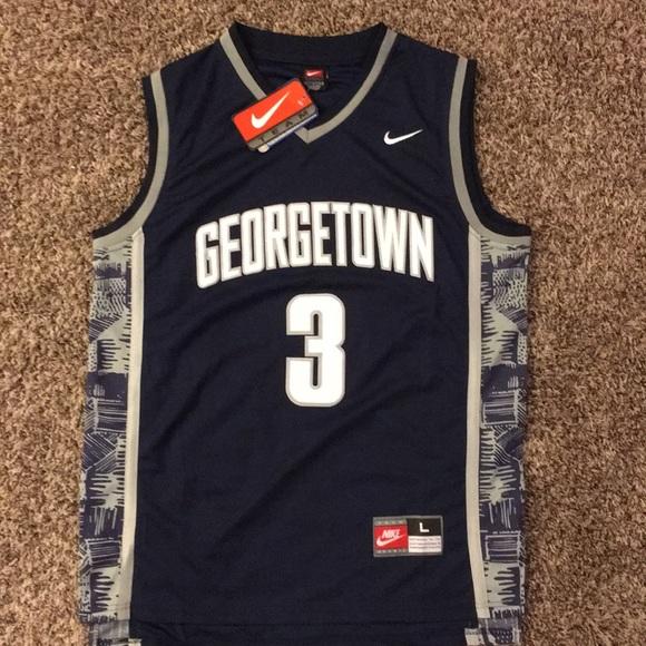 14ab061e Nike Shirts | 3 Allen Iverson Georgetown Throwback Jersey | Poshmark